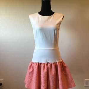 Dresses & Skirts - ERIN Erin Fetherston  ivory/guava dress NWT